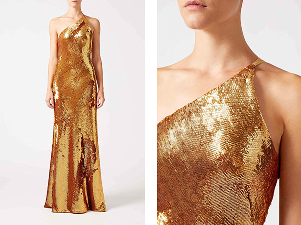 Galvan London - Gilded Roxy Dress