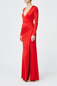 Allegra Dress - Red