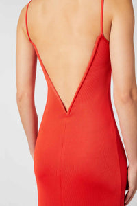 Berlin Bustier Dress - Red