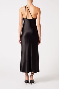 Cropped Roxy Dress - Black