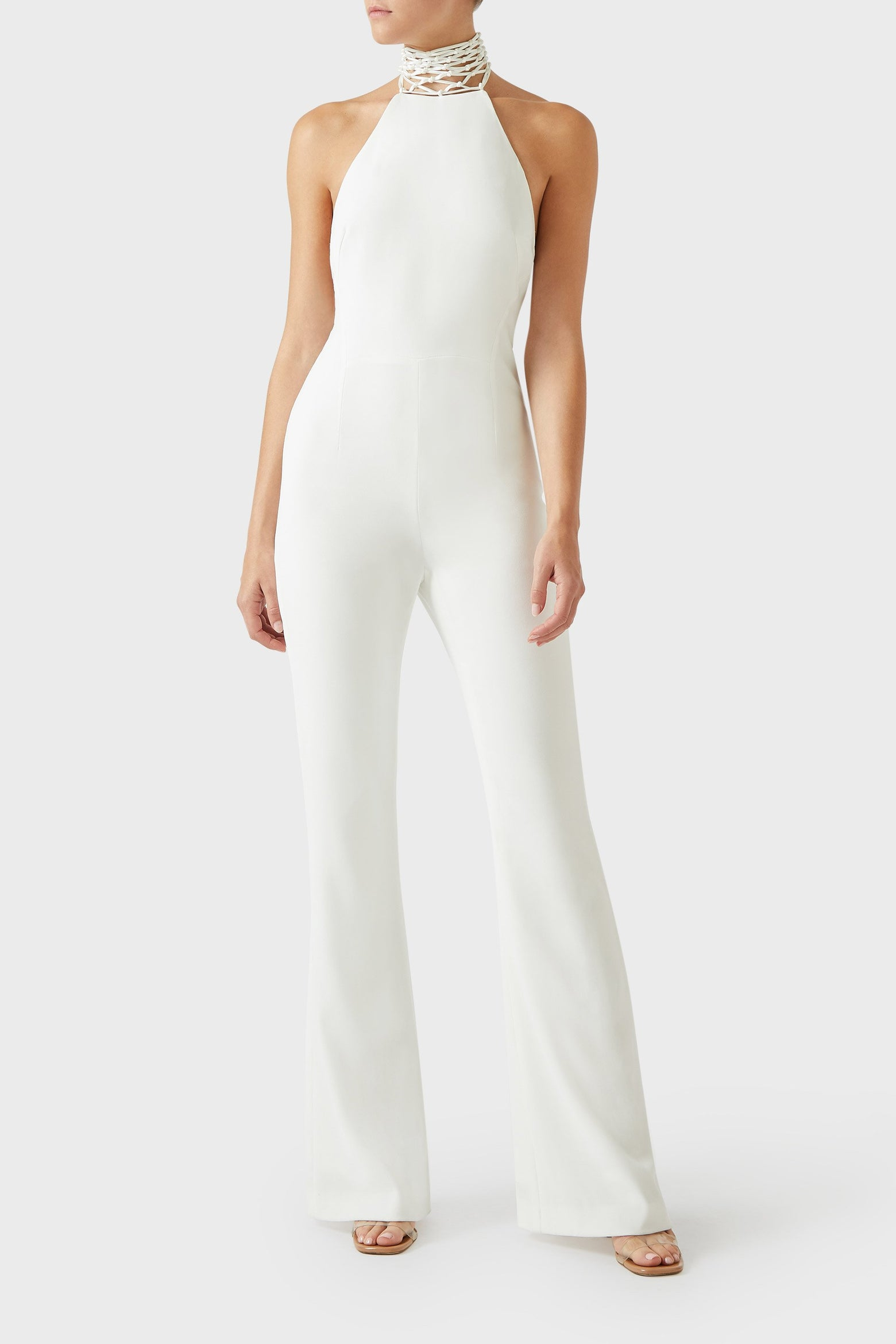 Calypso Jumpsuit - White