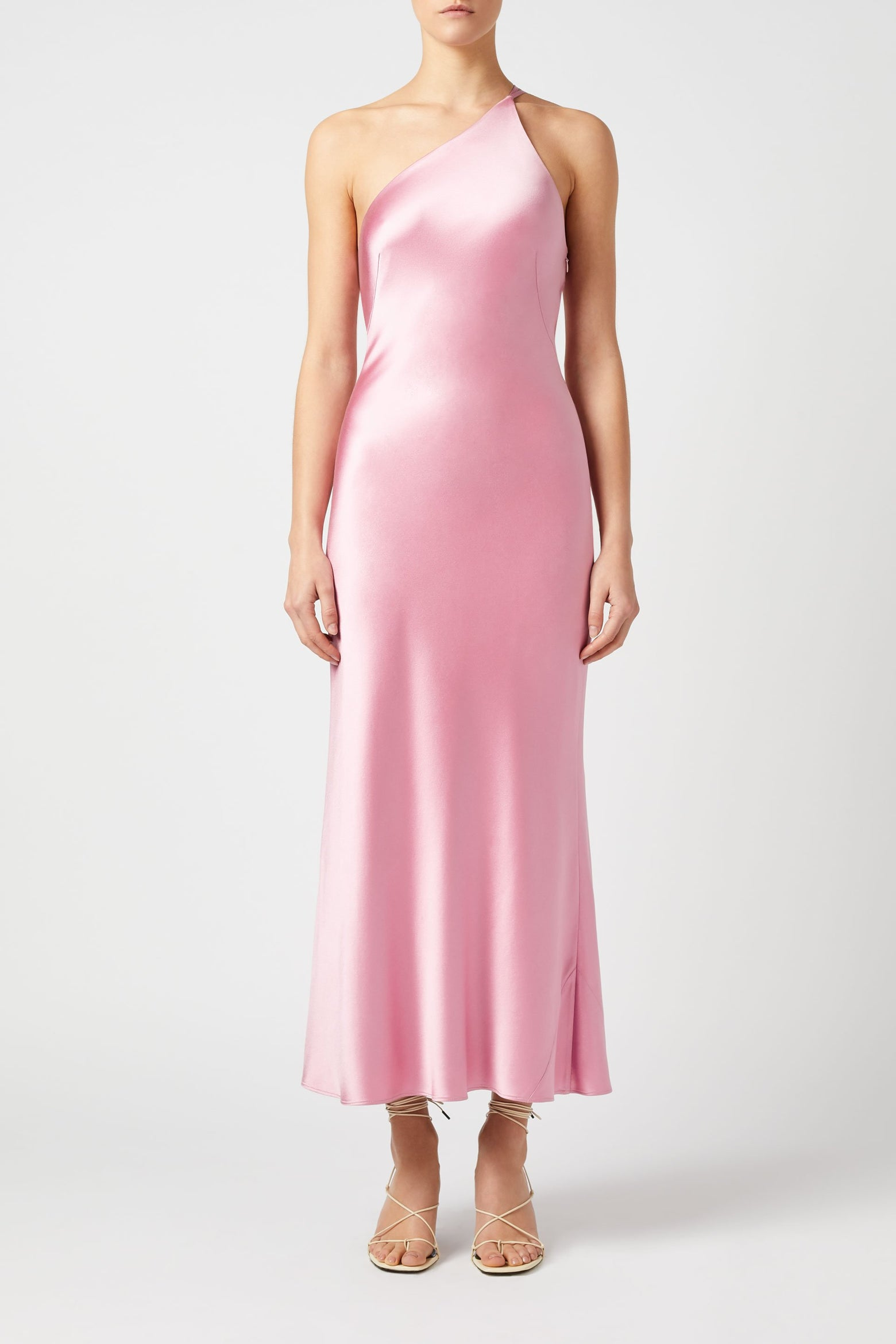 Cropped Roxy Dress - Rose