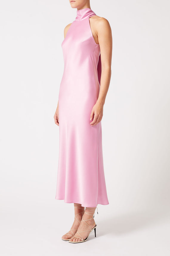 Cropped Sienna Dress - Rose