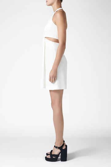 Eclipse Mini Dress - White