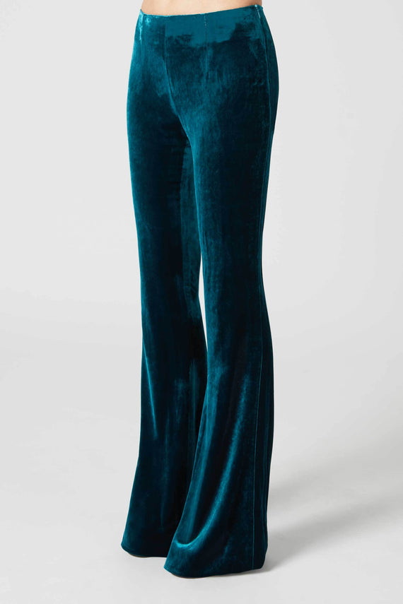 Moss Trousers - Peacock