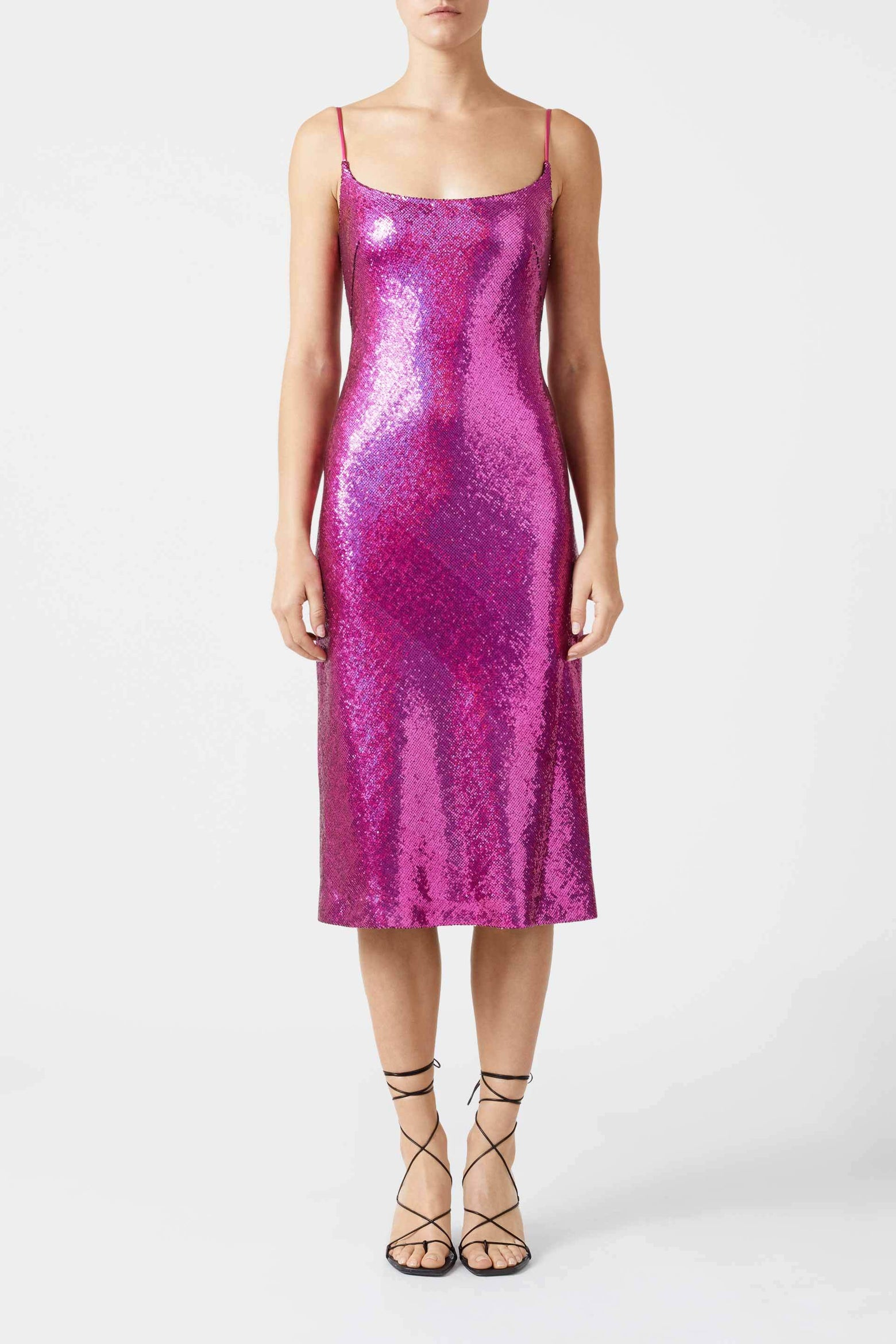 Metallic Christiane Dress