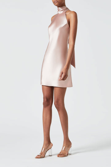 Mini Sienna Dress - Rose Nude
