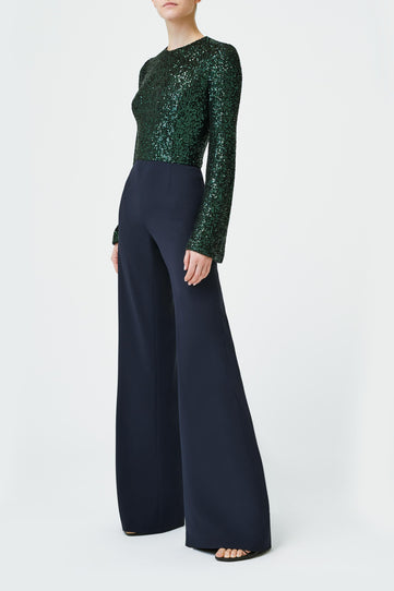 Modern Love Jumpsuit - Green & Midnight