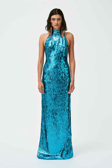 Oceana Dress - Turquoise