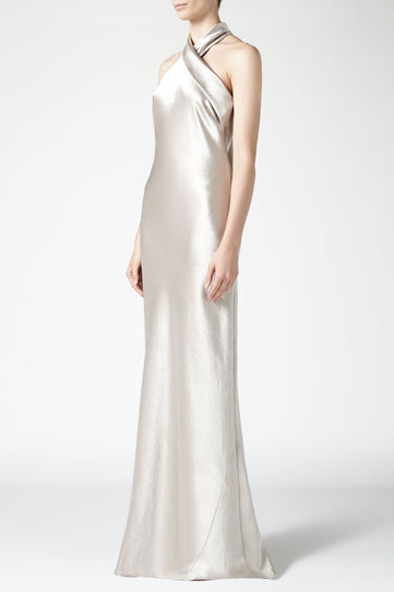 Metallic pandora dress - Platinum