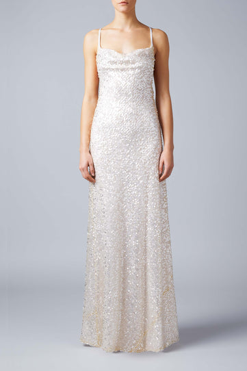 Paillette Bridal Whiteley Dress