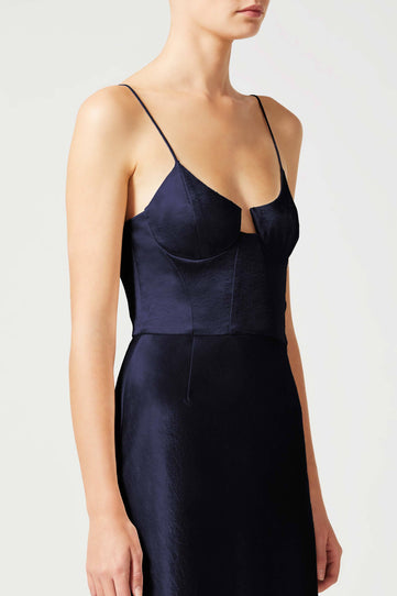 Phoebe Bustier Dress - Midnight