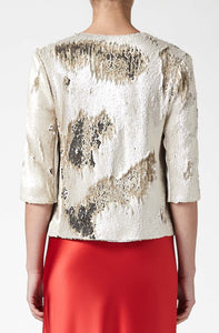 Salar Jacket - Nude & Gold