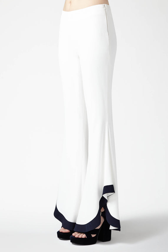Sierra Trousers - White & Midnight