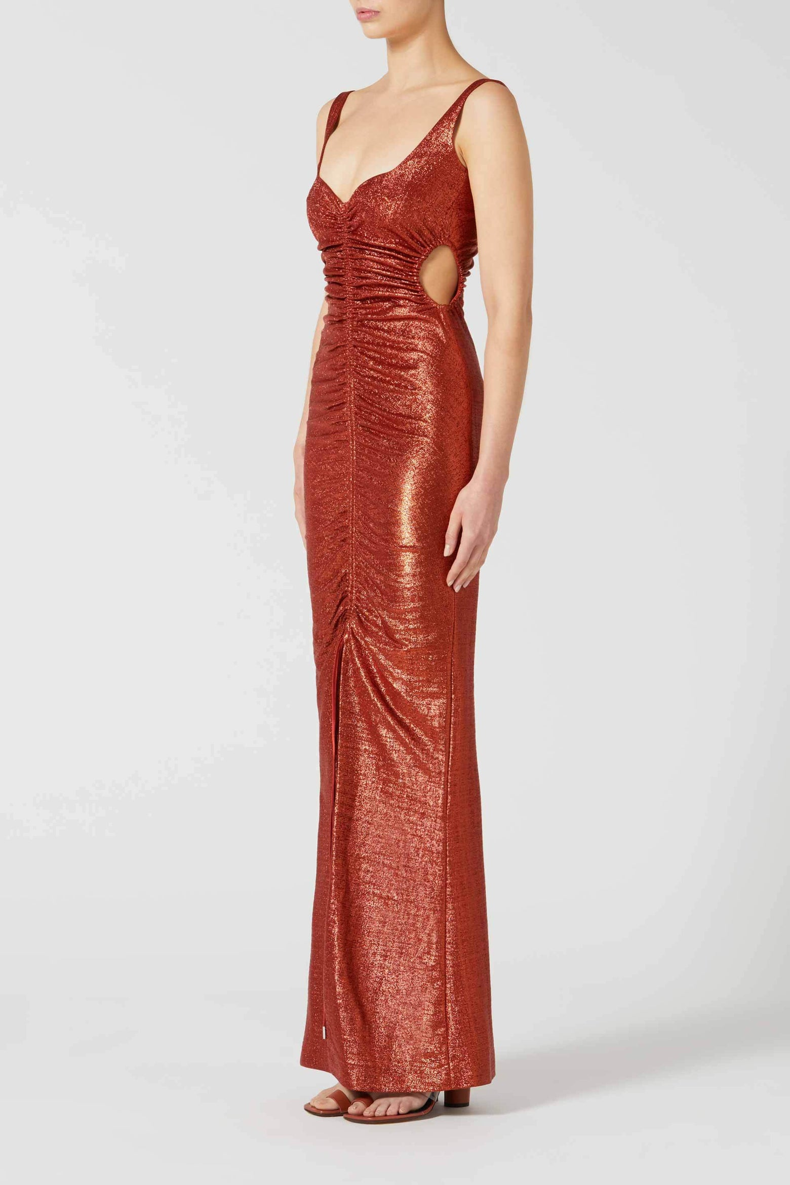 Sahara Dress - Rust