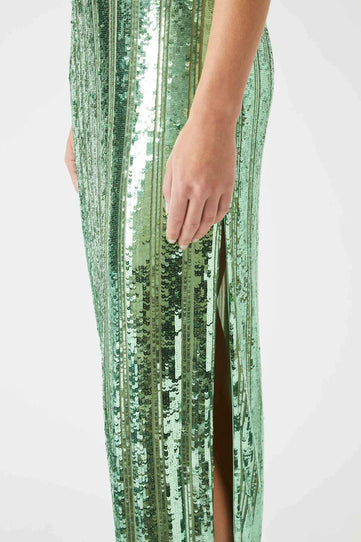 Stargaze Slip Dress - Jade