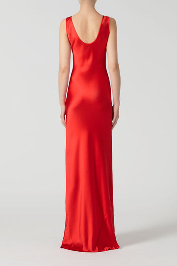 Valletta Dress - Red