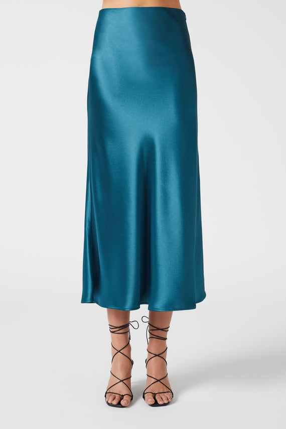 Valletta Skirt - Peacock
