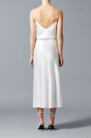 Valletta Satin Bridal Skirt