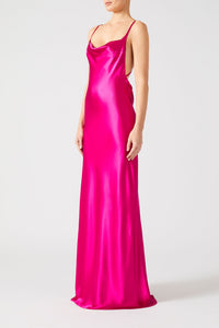 Whiteley Dress - Fuchsia
