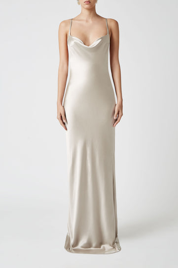 Whiteley Dress - Platinum
