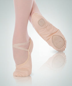 Adult Split Sole Canvas Ballet Shoe