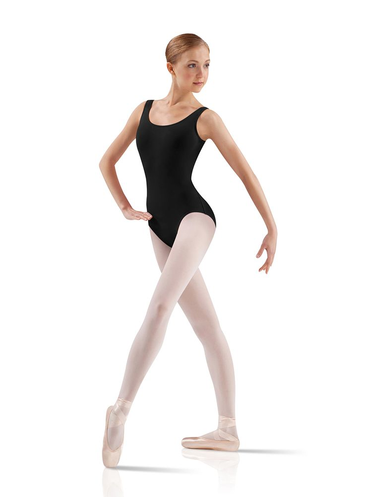 Tank Ballet Cut Leotard Adult BW ProWear