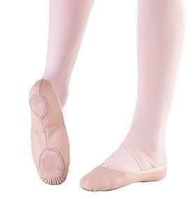Split Sole Leather Ballet Shoe (Children & Adults)