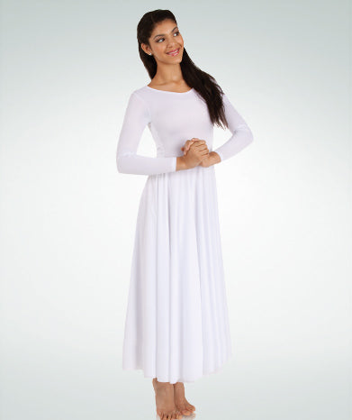 Worship Dance Long Sleeve Dress