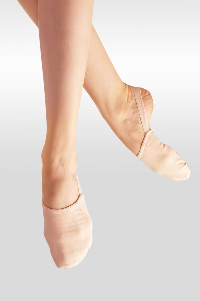 Canvas Pirouette Shoe (Nude)
