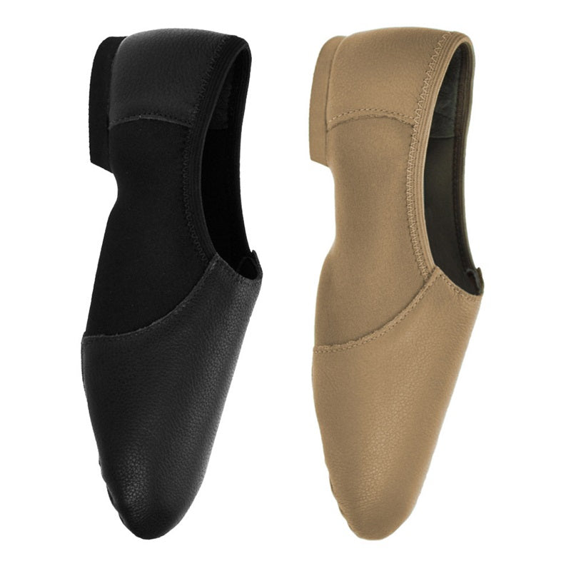Are not adult slip on jazz boot question