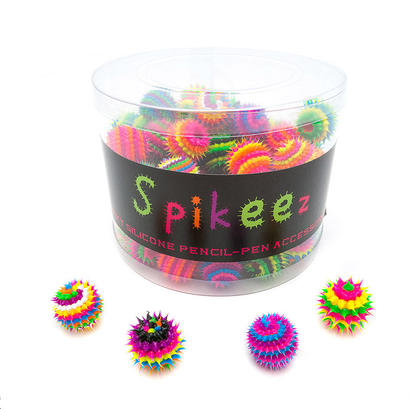 AA133TPT-1X Spiky Spiral and Stripes Toppers Assortment Tub - 96 pcs Tub