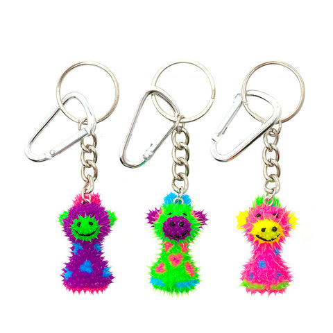 AA137KR-9 Spikeez Giraffe Critter Key Ring Charm - 12 Pcs Pack Unit