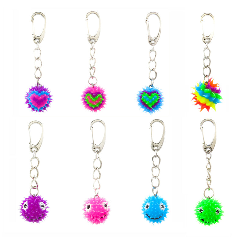 "AA205KR ""Spikeez"" Small Spiky Ball Decorating Charms"