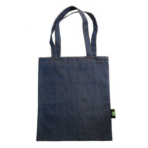 AA504PU Denim Tote With Inner Pocket - 6 Pcs Pack Unit