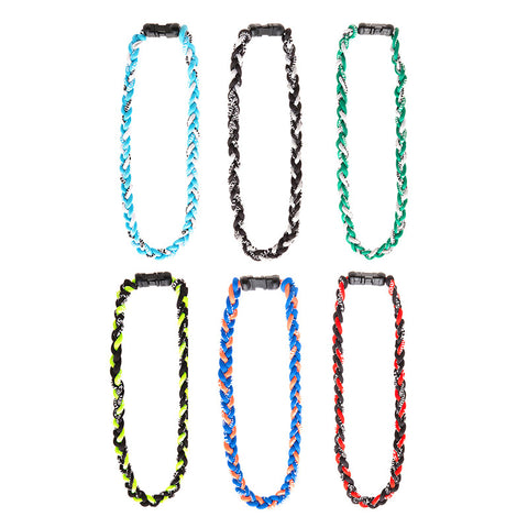 BE120N Titanium Energy Necklace - 12 Pc Pack Unit