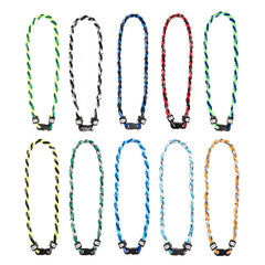 BE125N Twisted Titanium Energy Necklace - 12 Pc Pack Unit