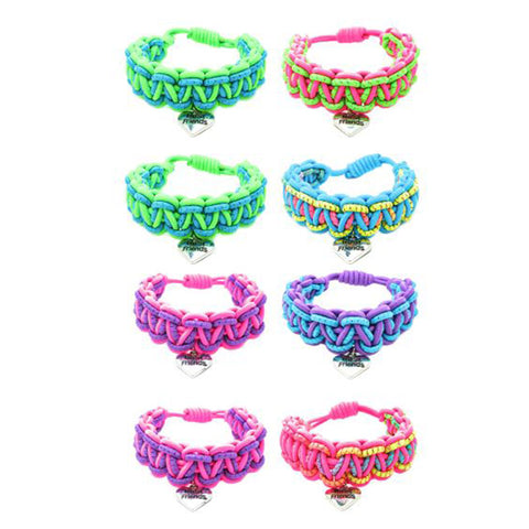 BF210B Best Friend Glitter Stretch Bracelet Set of 2 - 12 Sets Pack Unit