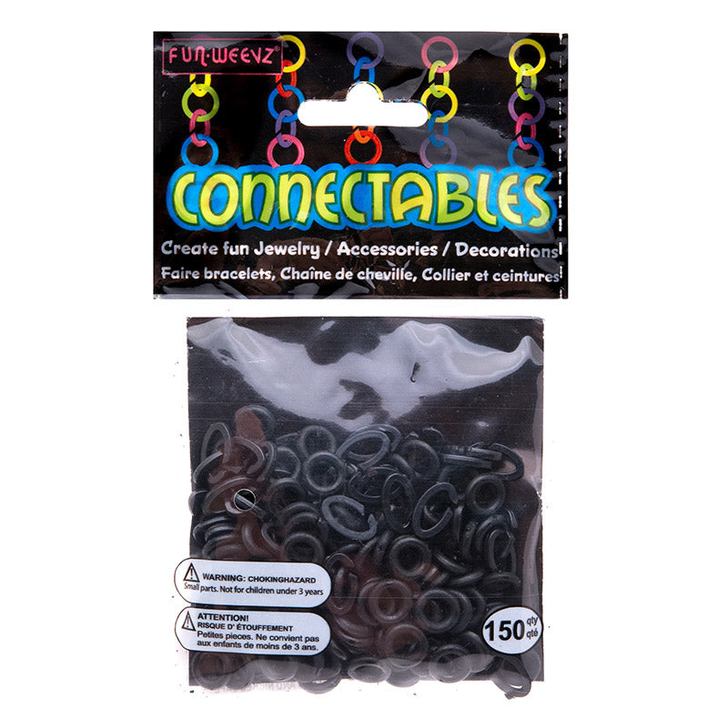 CN501KA Black Small Connectables Do it Yourself Kit - 12 kits Pack Unit