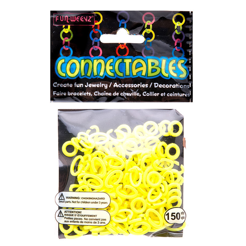 CN501KA3 Neon Yellow Small Connectables Do it Yourself Kit - 12 kits Pack Unit