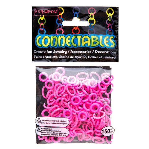 CN501KB2 Neon Pink Small Connectables Do it Yourself Kit - 12 kits Pack Unit