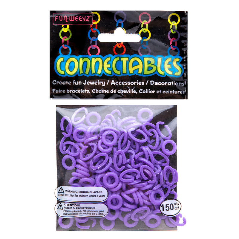 CN501KB6 Purple Small Connectables Do it Yourself Kit - 12 kits Pack Unit