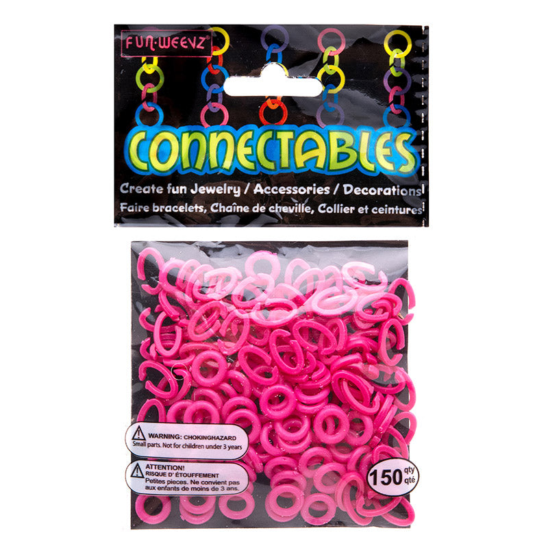 CN501KN Fuchsia Small Connectables Do it Yourself Kit - 12 kits Pack Unit