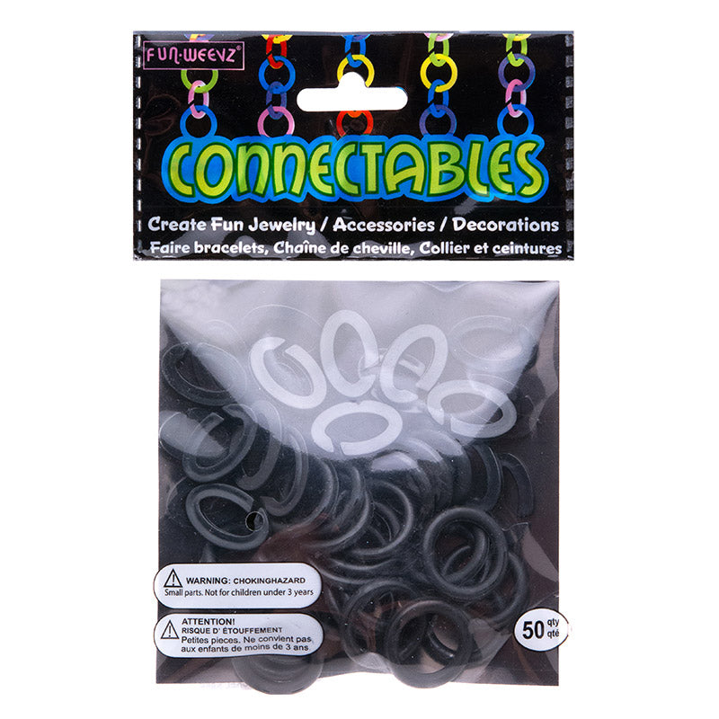 CN601KA Large Black Connectables Do It Yourself Kit - 12 kits Pack Unit