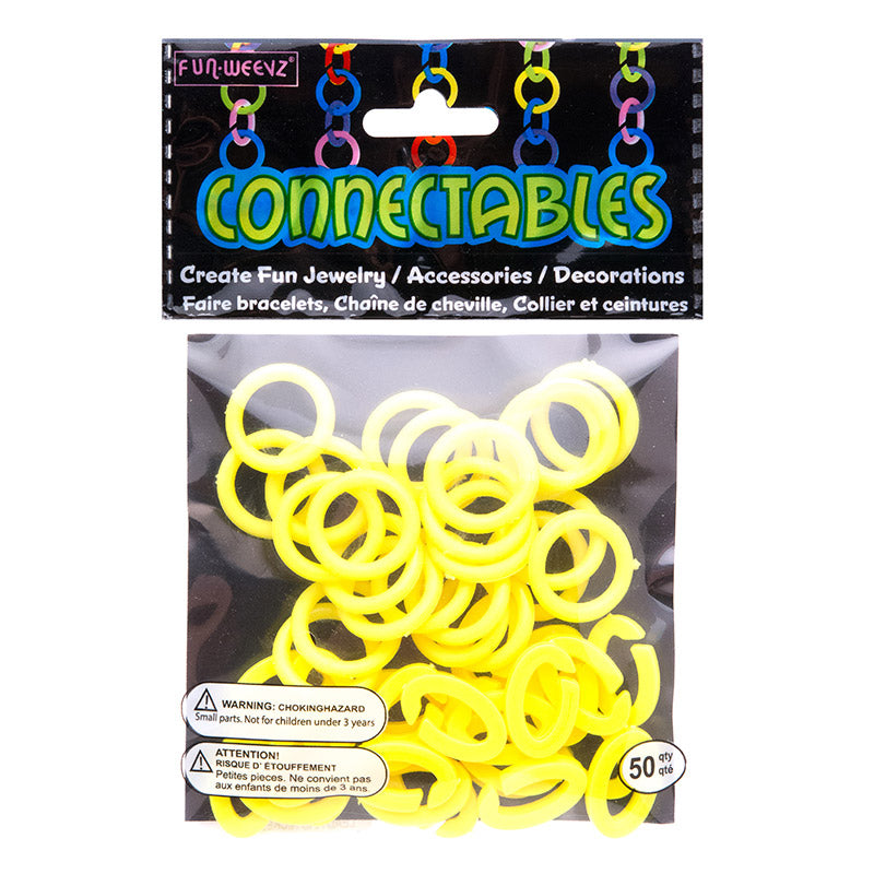 CN601KA3 Large Yellow Connectables Do It Yourself Kit - 12 kits Pack Unit