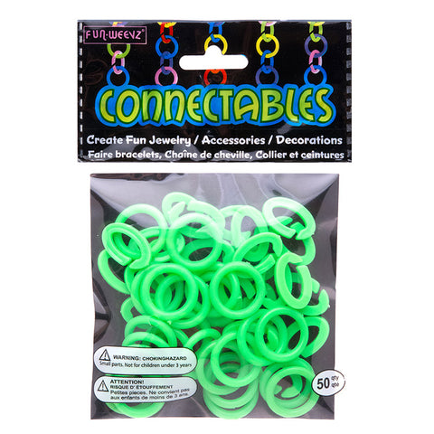 CN601KB4 Large Neon Green Connectables Do It Yourself Kit - 12 kits Pack Unit