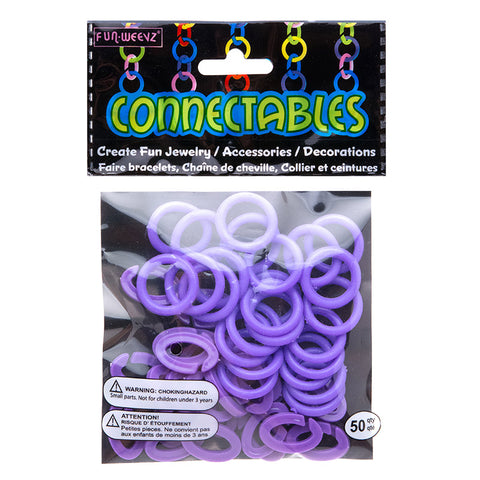 CN601KB6 Large Purple Connectables Do It Yourself Kit - 12 kits Pack Unit