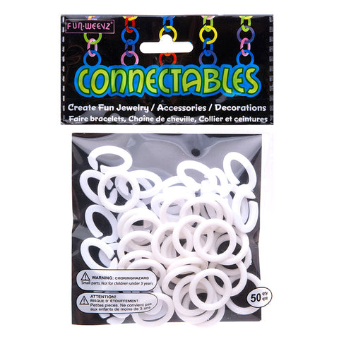 CN601KY Large White Connectables Do It Yourself Kit - 12 kits Pack Unit