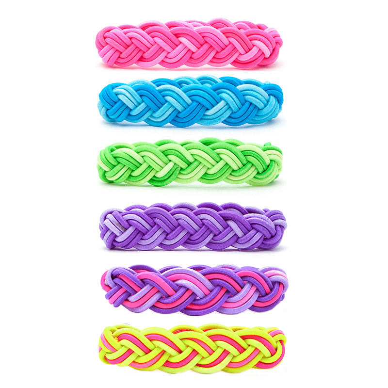 CRC1095B-TD Tie-Dye Stretch Bracelets - 12 Pc Pack Unit