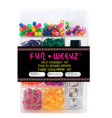 FW232DKX-300 Fun Weevz Do it Yourself Spiky Tie Dye Kit